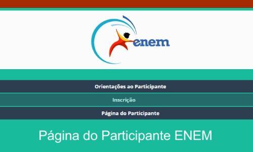 ENEM 2020 Página do Participante