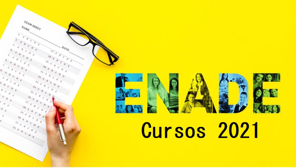 Calendário ENADE 2021